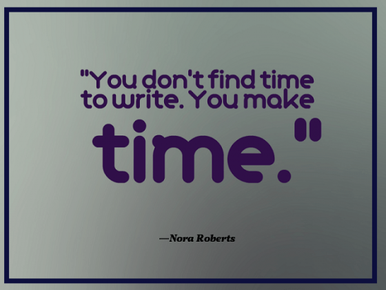 Quote-about-making-time-for-writing