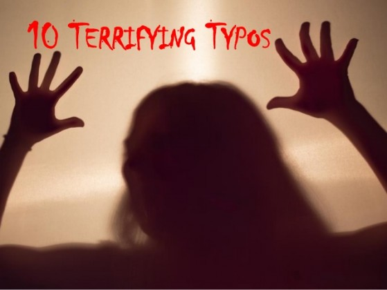 """""""Terrifying Typos"""" by Cathy Miller"""