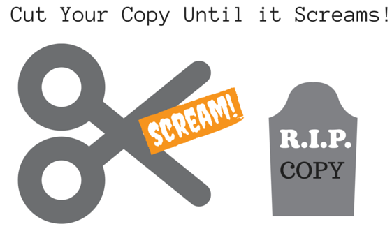Cut Your Content Until it Screams! Sue-Ann Bubacz