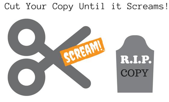 Cut Your Content Until it Screams! Sue-Ann Bubacz