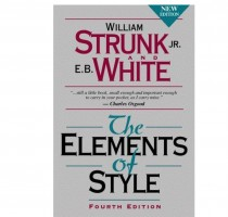 Strunk & White, The Elements o Style book graphic