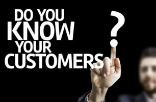 Business man pointingt: Do you Know your Customers?