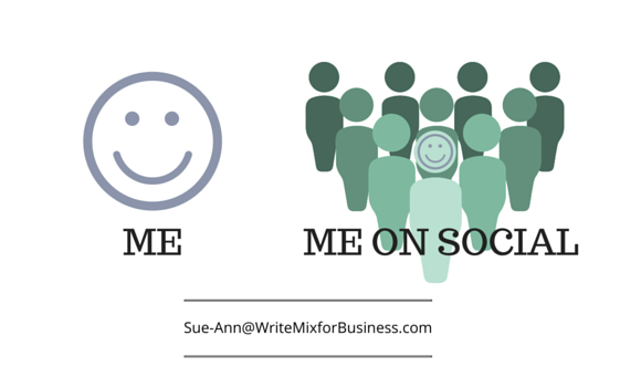 "Me and Social Me for ""Social Distraction"" article by Sue-Ann Bubacz for kikolani.com"