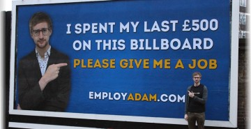 Adam Pacitti Created A Billboard That Turned Viral Online