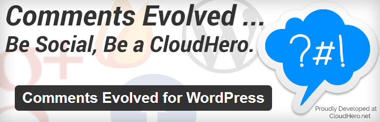 Comments Evolved for WordPress