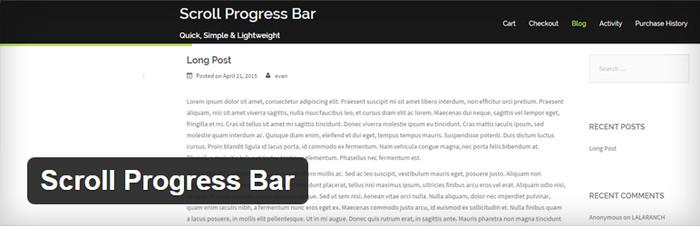 Scroll Progress User Experience