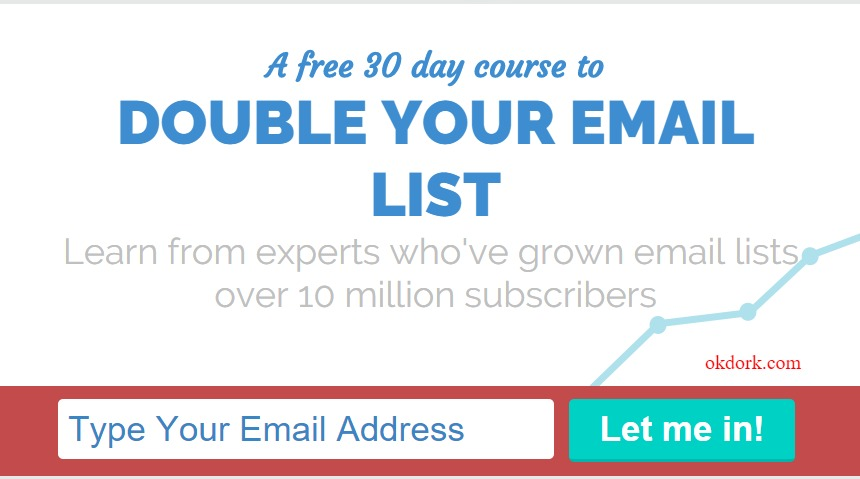 Email 1K 30 days to double your email list