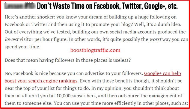 Make Money Blogging 20 Lessons uyGoing to 100K per Month