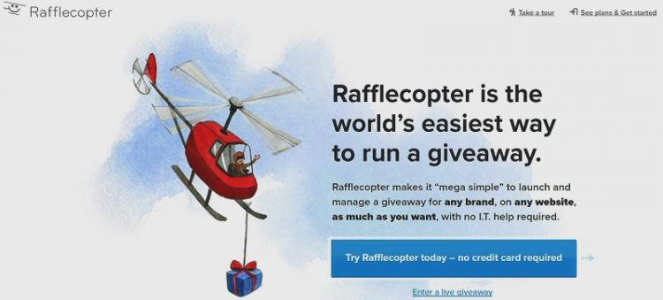 rafflecopter-screenshot