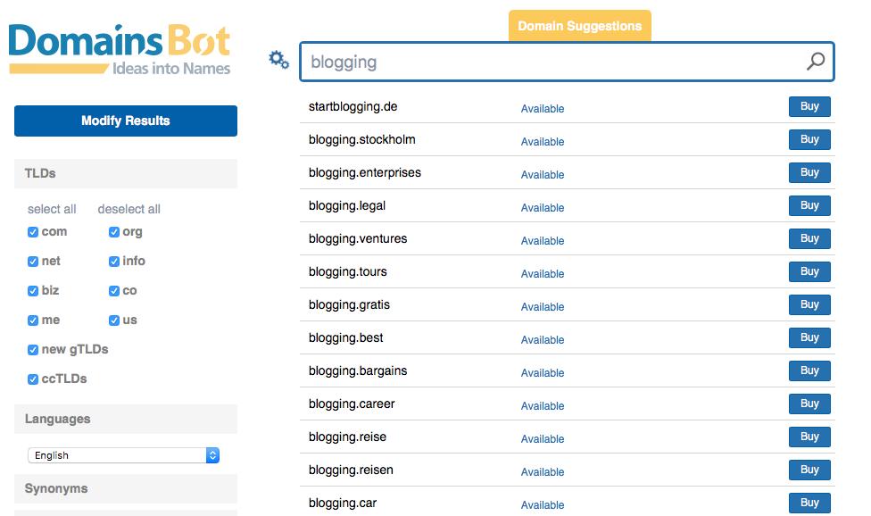 DomainBot