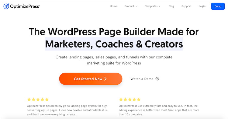 OptimizePress - Best List Building Plugins