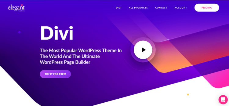 Elegant Themes Review: Divi Theme