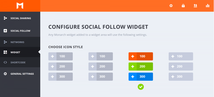 Elegant Themes Review: Monarch Social Follow Widget