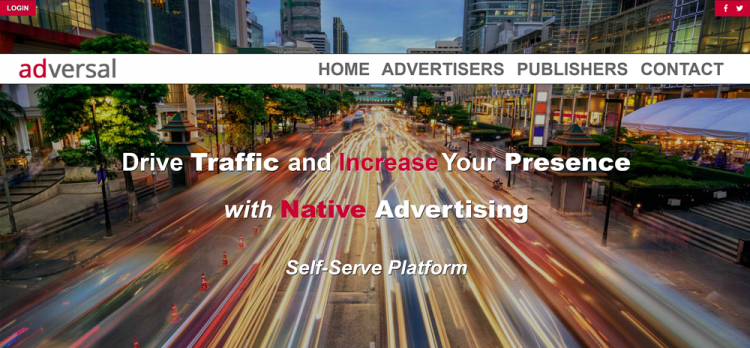 Google Adsense alternatives: Adversal