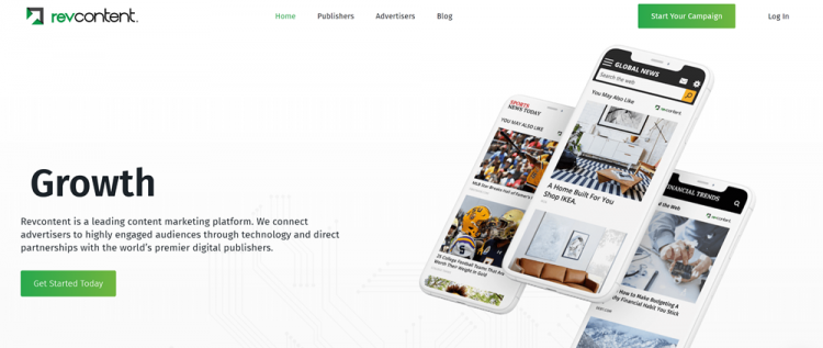 Best Google Adsense alternatives: RevContent