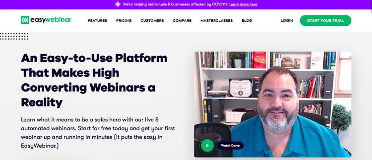 EasyWebinar webinar platform