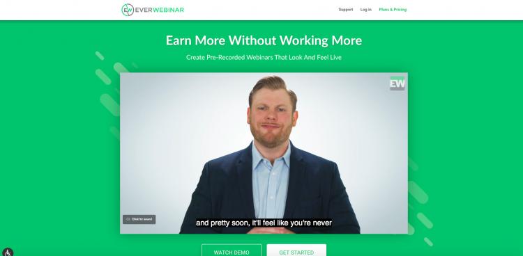 EverWebinar webinar platform