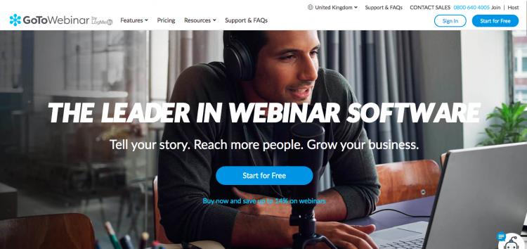 GoToWebinar webinar software