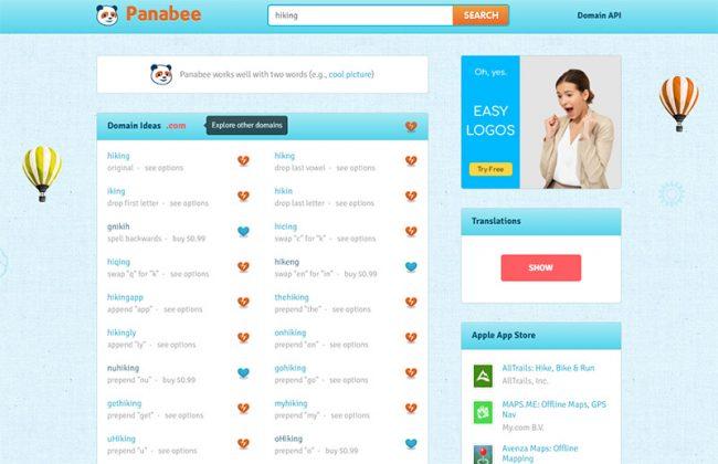 Domain Name Generators - Panabee
