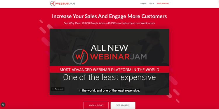 WebinarJam webinar platform