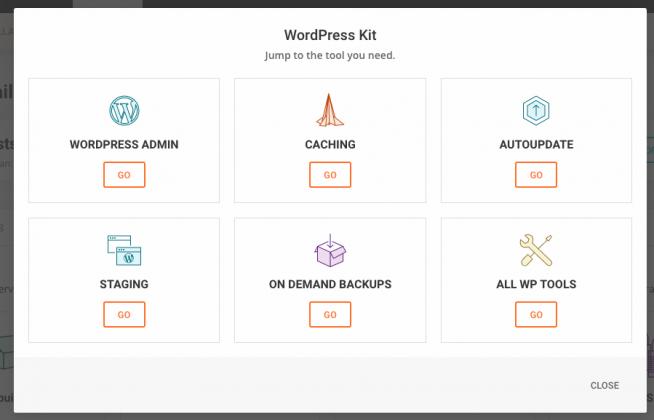 SiteGround WordPress kit